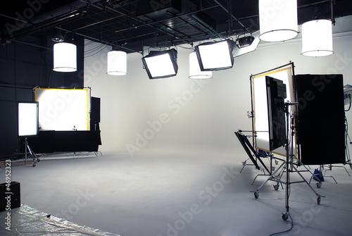 Obraz interior photo studio - fototapety do salonu