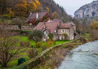 Fototapeta na wymiar Baume-les-Messieurs  Village, France