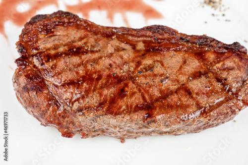 Papiers peints Steakhouse Juicy rib-eye beef steak