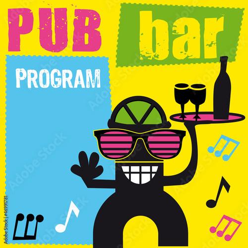 szyld-logo-bar-pub-kelner-kawiarnia-tancerz-radosc