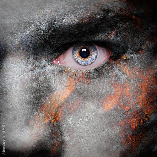 Vampire face Poster