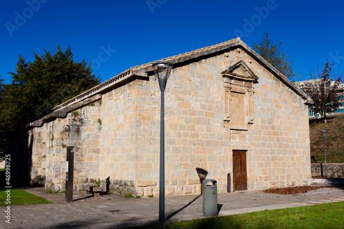 Papiers peints Les vieux bâtiments abandonnés Inside of the Citadel, Pamplona, Navarra, Spain