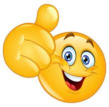 Thumb Up Emoticon