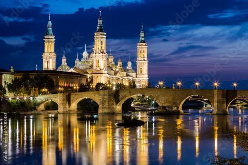 Our Lady of the Pillar, Zaragoza, Aragon