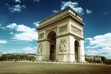 Fototapeta na wymiar Arc de Triumph, Paris