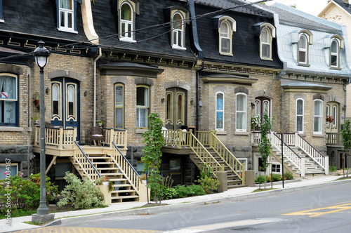 Photographie  Quebec , house in the city of Levis in Chaudiere Appalaches