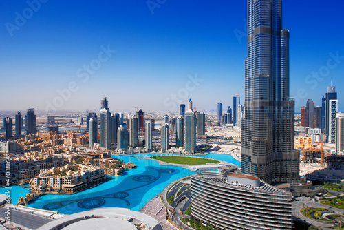 Recess Fitting Dubai Downtown Dubai is a popular place for shopping and sightseeing