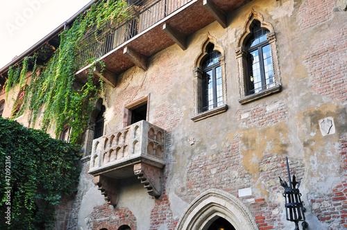 Balkon Von Romeo Und Julia In Verona Italien Kaufen Sie Dieses