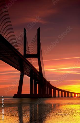 El puente vasco de gama