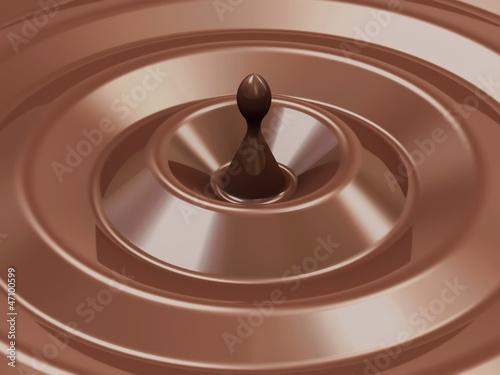 Fototapeta Abstract Chocolate Background obraz na płótnie