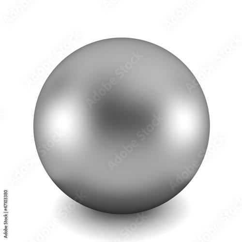 Obraz chrome ball - fototapety do salonu