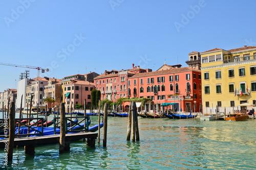 Stickers pour porte Venise Grand canal, Venice, Italy