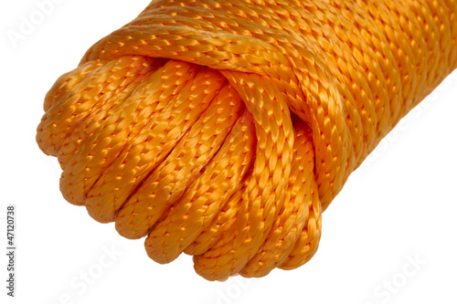 Hank Orange synthetic rope Poster