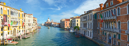 Foto op Plexiglas Venetie Panorama of grand canal, Venice