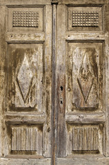 FototapetaOld wooden antique door