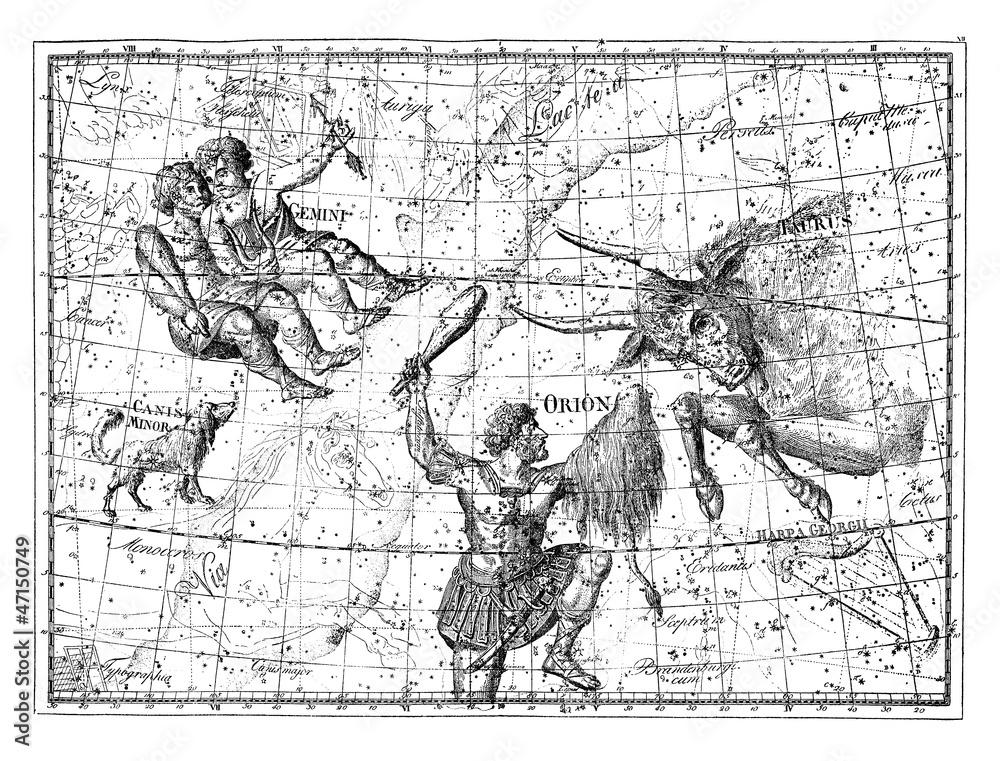 Astronomy/Astrology - Taurus & Gemini Foto, Poster, Wandbilder bei ...