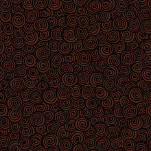 Seamless Abstract Hand-drawn Pattern With Spirals. Vector