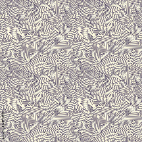 Wall Murals Psychedelic Seamless abstract background. Broken lines. Vector illustration