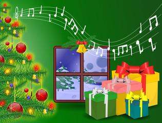 Music Christmas card