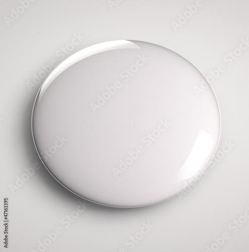Staande foto Bol Blank button badge