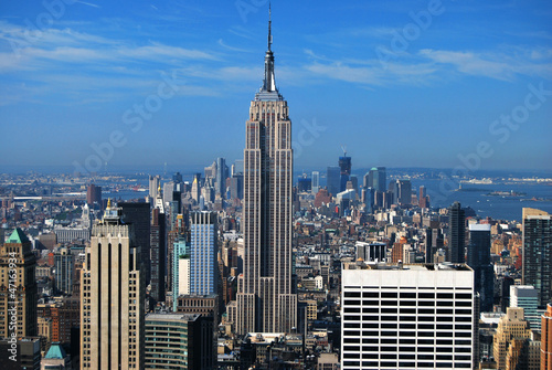 Valokuva  Empire State Building et Manhattan New York USA