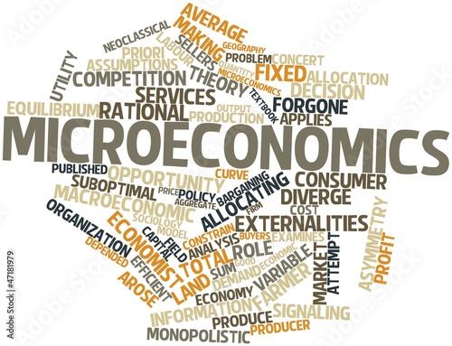 list 01 micro economy