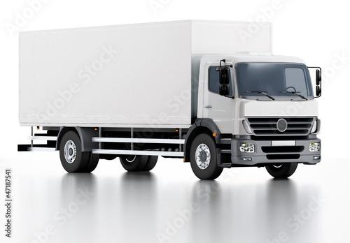 Fotografía  Commercial Delivery / Cargo Truck