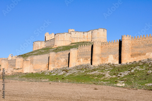 Castle of Berlanga de Duero, Soria, Castile and Leon (Spain)
