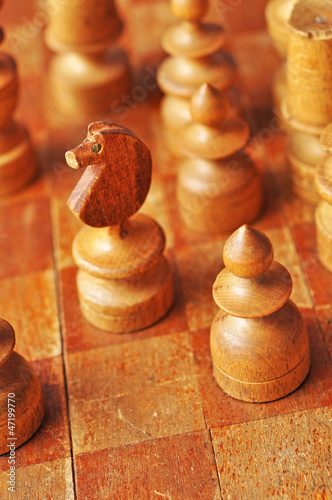 Obraz chess - fototapety do salonu