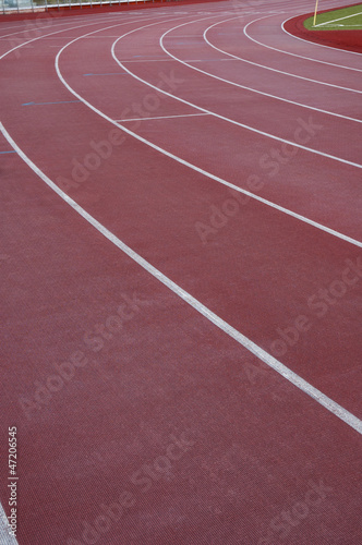 Poster Stadion athletic track