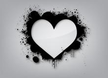 Graffiti Love Background