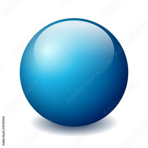 Obraz Vector ball figure - fototapety do salonu