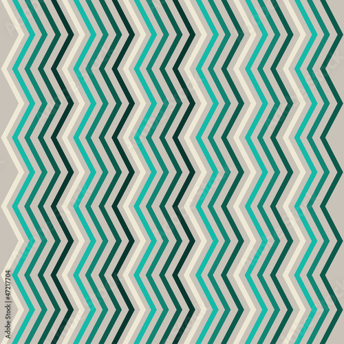 Foto op Aluminium ZigZag Abstract seamless geometric pattern