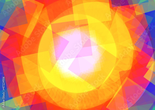 Abstract illustration with Rectangle - 47224106