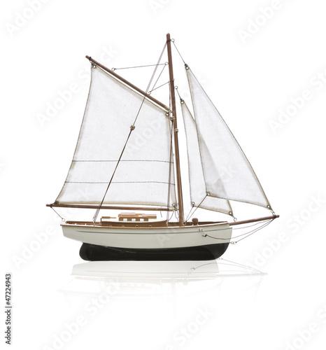 Fotografia  Modellsegelboot