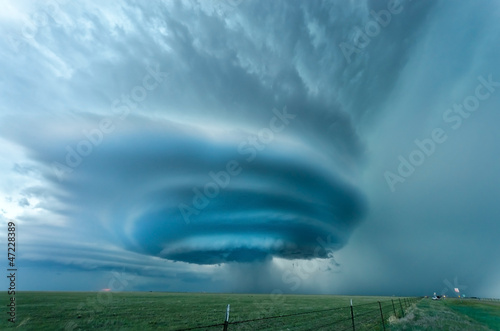 Poster Texas Supercell