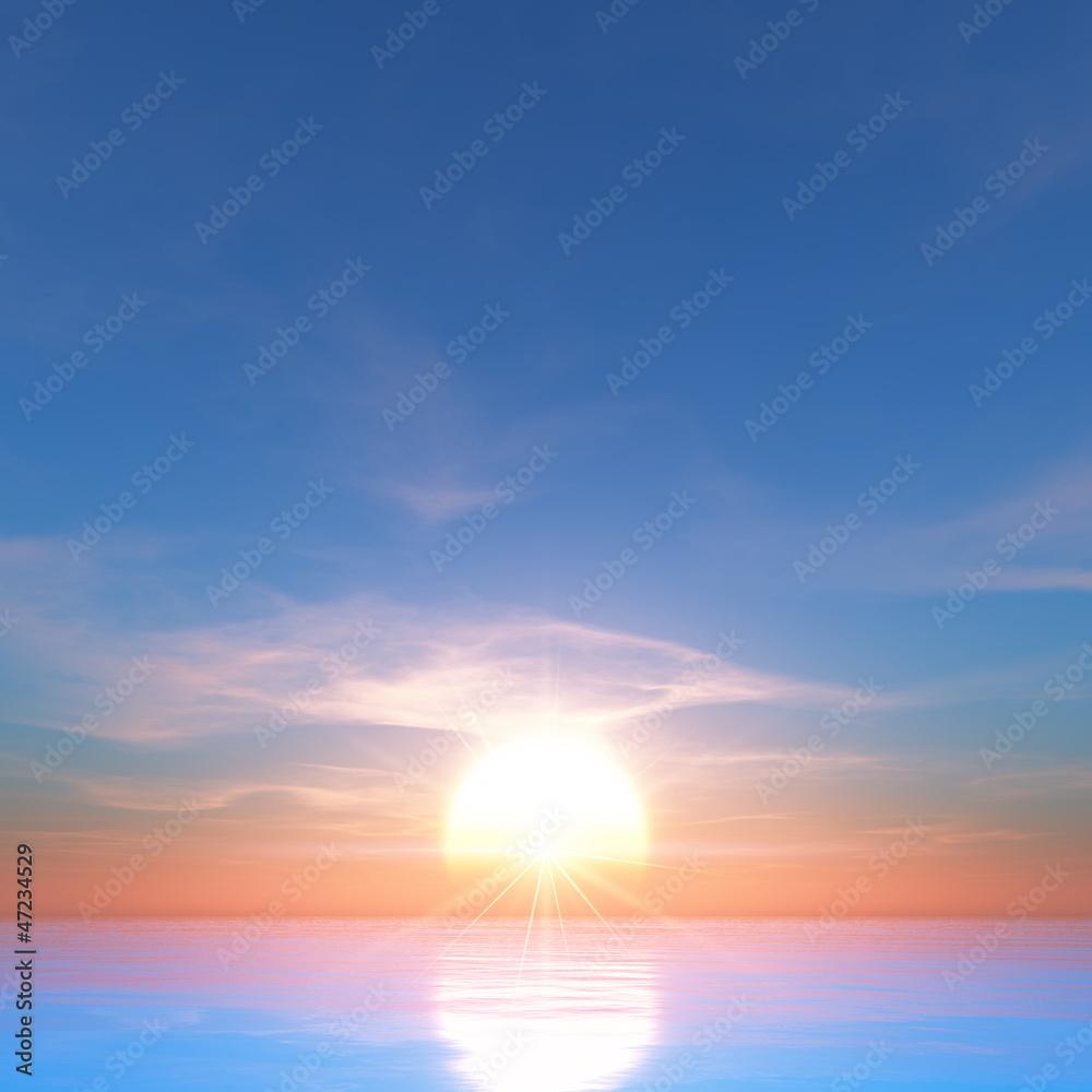 Fototapeta 日の出