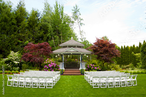 Fotografie, Obraz  Wedding Venue and Chairs