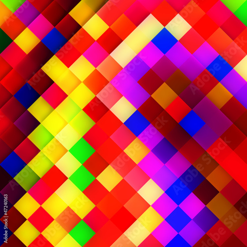 Foto op Aluminium Pixel Abstract mosaic background.