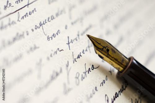 Fotografie, Obraz  Old Letter