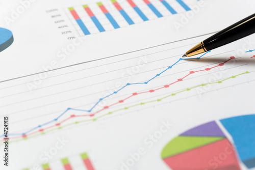 Valokuva  ビジネスチャート