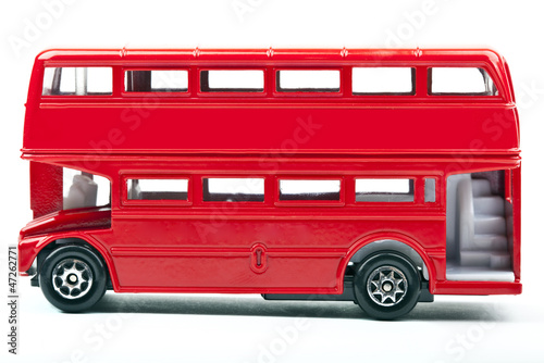 Foto op Canvas Londen rode bus Red London Bus