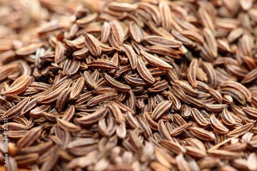 Fototapeta Cumin seeds texture, full frame background obraz