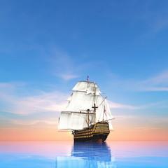 Fototapeta Do pokoju chłopca 帆船