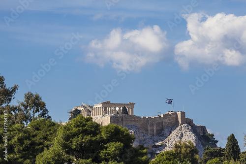 Printed kitchen splashbacks Athens Parthenon temple on the Athenian Acropolis, Greece