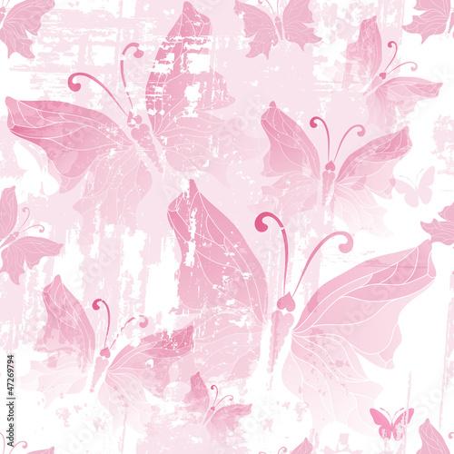 wzor-w-rozowe-motyle