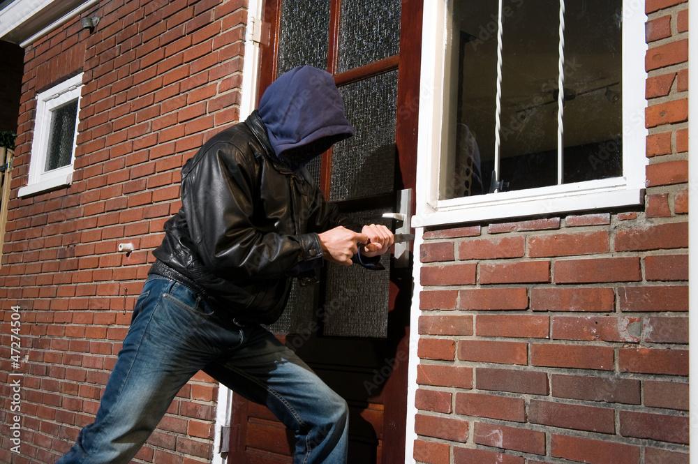 Fototapeta Burglar