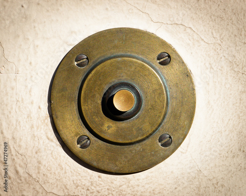Photographie  old bell button