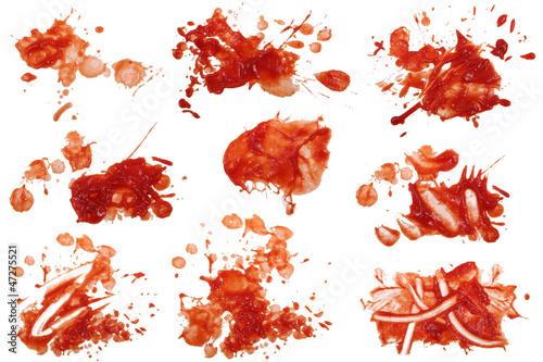 Obraz na plátně Ketchup Flecken 8
