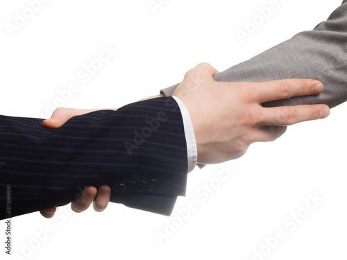 Fényképezés  Business Begrüßung